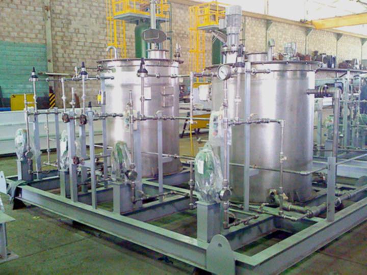 Sistema de Dosificación de Químicos